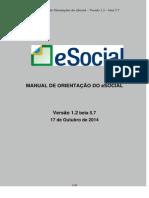 eSocial - Versao 1.2 Beta 5.7