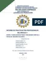 Informe de practicas pre-profesionalmodular