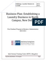 Project - Laundry Business