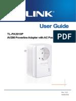 Tl-pa2010pkit v1 User Guide