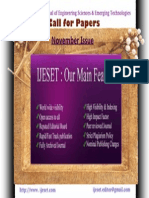 IJESET Call for Papers