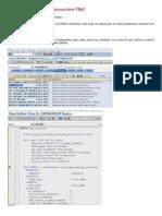 BADI Implementation for Transaction FB60