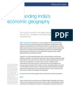 Understanding Indias Economic Geography