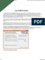 YUMI – Multiboot USB Creator _ USB Pen Drive Linux