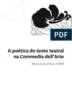A Poética Do Texto Teatral Na Commedia Dell'Arte