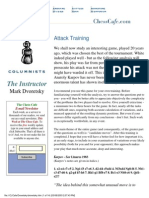 [Chess] Dvoretsky, Mark - The Instructor 30 - Attack Training