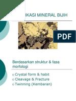 2. Identifikasi Mineral