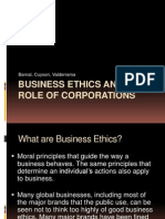 _Business Ethics and the Role of Corporation