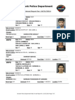 public arrest report for 31oct2014
