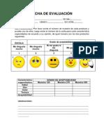 Ficha de Evaluación Para Pan Frances