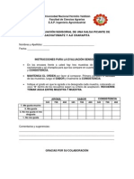 Ficha de Análisis Sensorial