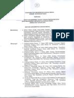 SK Penerima Bidikmisi Angkatan 2014