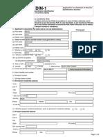 Director Information Number