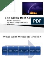 Greek Debt Crisis Finall