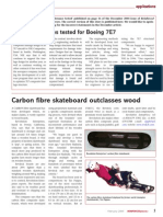 Carbon Fibre Skateboard Outclasses Wood