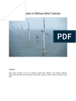 Wind Turbines Material Science