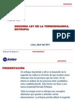 segunda ley de la termodinamica - entropia