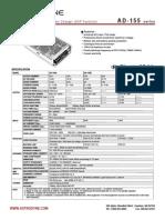 ADD-155C Datasheet