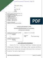Gene and Agilent litigation dismissal