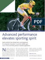 Advanced Performance Elevates Sporting Spirit
