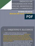 12 NT 03 Índices de Contam Armónica