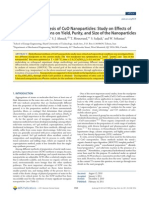 Hydrothermal Synthesis of CuO Nanoparticles- Study on Effects of Operational Conditions on Yield, Purity, And Size of the Nanoparticles