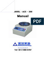 ACE-200_spincoater manual