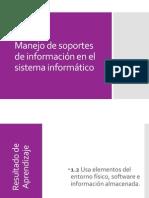 Manejo de Soportes de Información