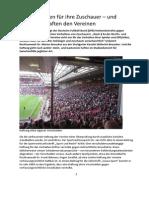Vereine Haften Für Ihre Zuschauer – Und Zuschauer Haften Den Vereinen