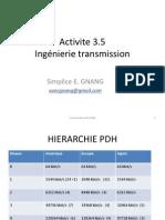 Activite 3.5 Ingénierie Transmission