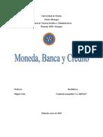 Moneda, Banca y Credito