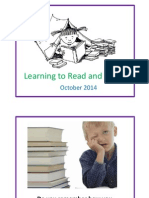 Presentation Reading October 2014