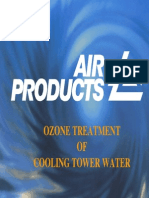 Ozone Treatment of Cooling Tower Water