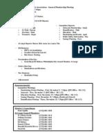 EPX November 2014 GM Agenda