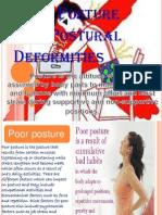 Good Posture and Postural Deformities