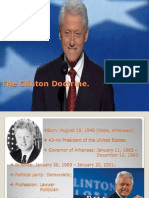 Clinton Doctrine