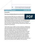Perspective Newsletter October 2014