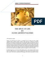 The Spice of Life and Political Economics
