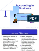 Chapter 1 - Acc in Business
