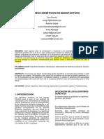 Paper - Algoritmos Genéticos en Manufactura