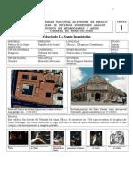 ANALISIS ARQUITECTONICO PALACIO INQUICISION