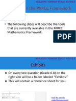 tools within the parcc framework
