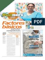 Factores Básicos para una Competencia en Runners Síntesis