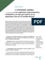 Laclau - Entrevista (2007)