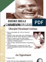 Leadership- D Ambani