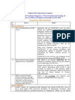 Iocl.com Download Recruitment Engineers 2014 FAQ