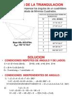Ajustes de Triangulacion 2003 6 Decimales