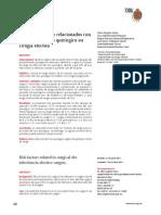 Factores de Riesgo Relacionados Con Infeccion Del Sitio Quirurgico