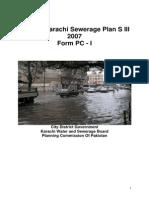 Greater Karachi Sewerage Plan 2007-2011