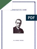 3690073 Rudolf Steiner Significado Oculto de La Sangre